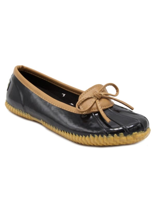 Webster Duck Shoe - Black - Front
