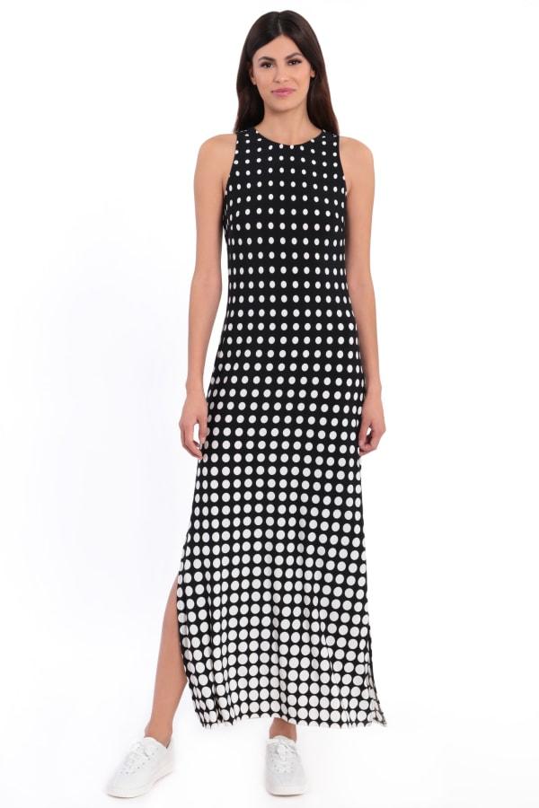 Shannon Halter Slits Maxi Dress