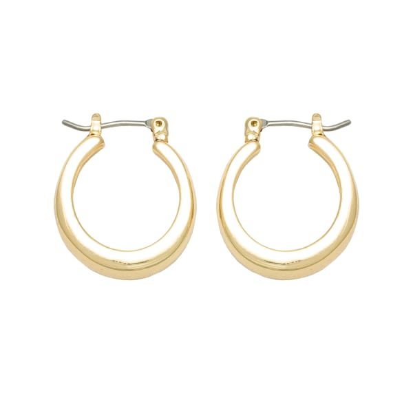 Museum Collection Gold Small Hoop