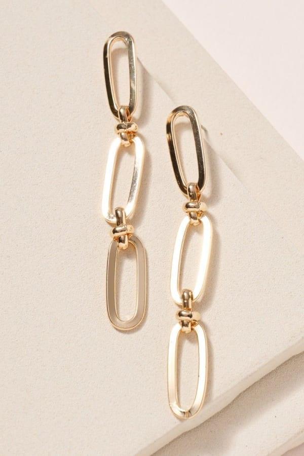 Chain Linked Dangling Earrings
