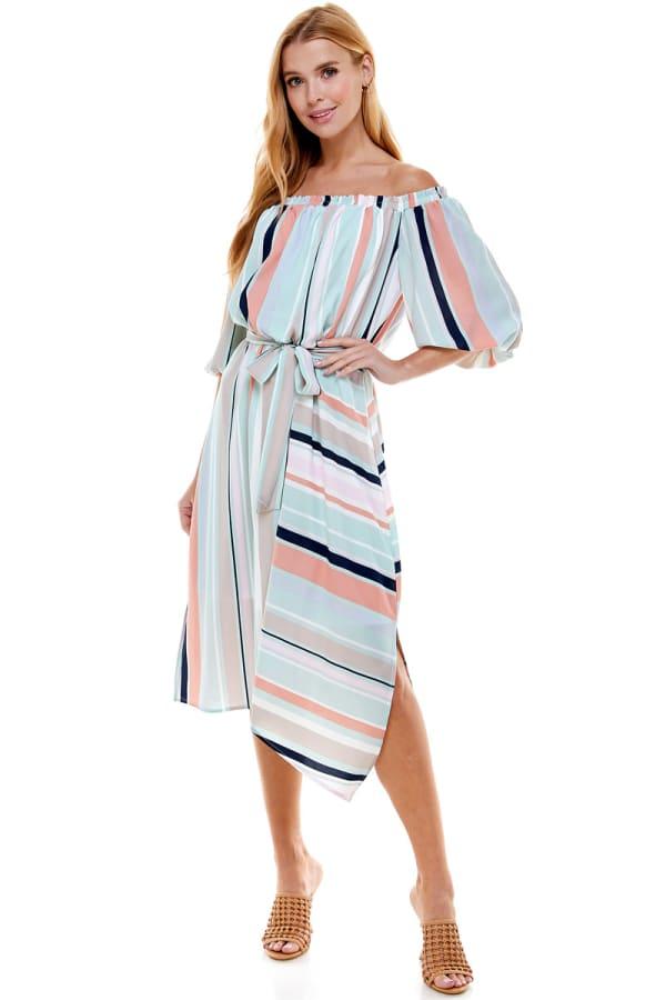 Summer Fun Stripe Dress