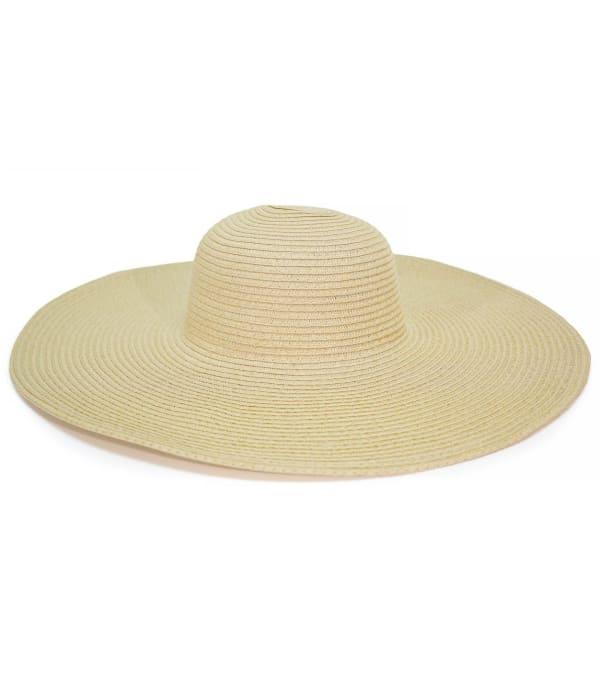 Large Brim Straw Floppy Hat