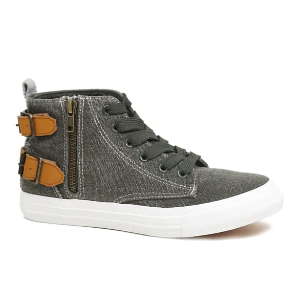 Retro Lace Up Canvas Sneaker