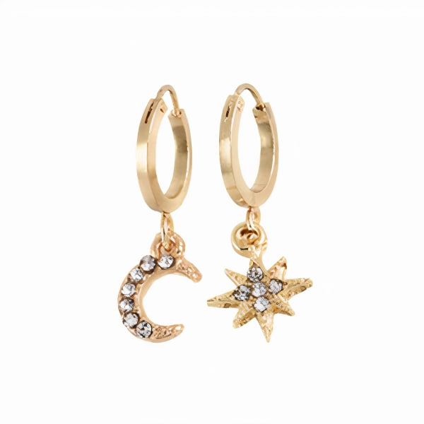 Eclipse Earrings - Gold - Front