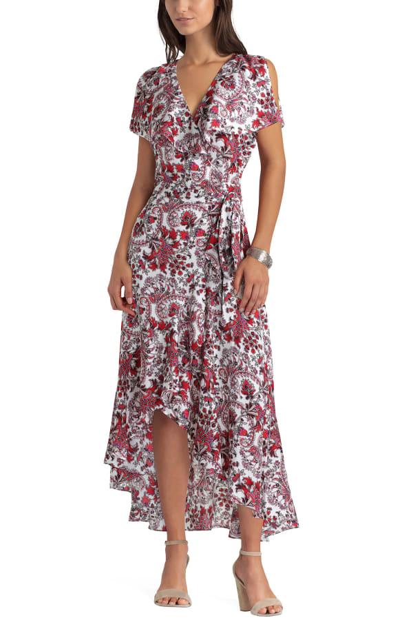 Gigi Parker Wrap Dress