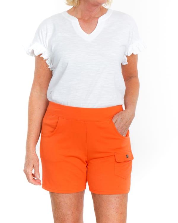 Sport Elle Take Comfort Cargo Pocket Knit Shorts