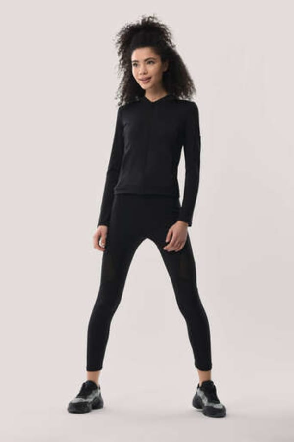 Slim-Line Long Sleeve Zip Up Jacket