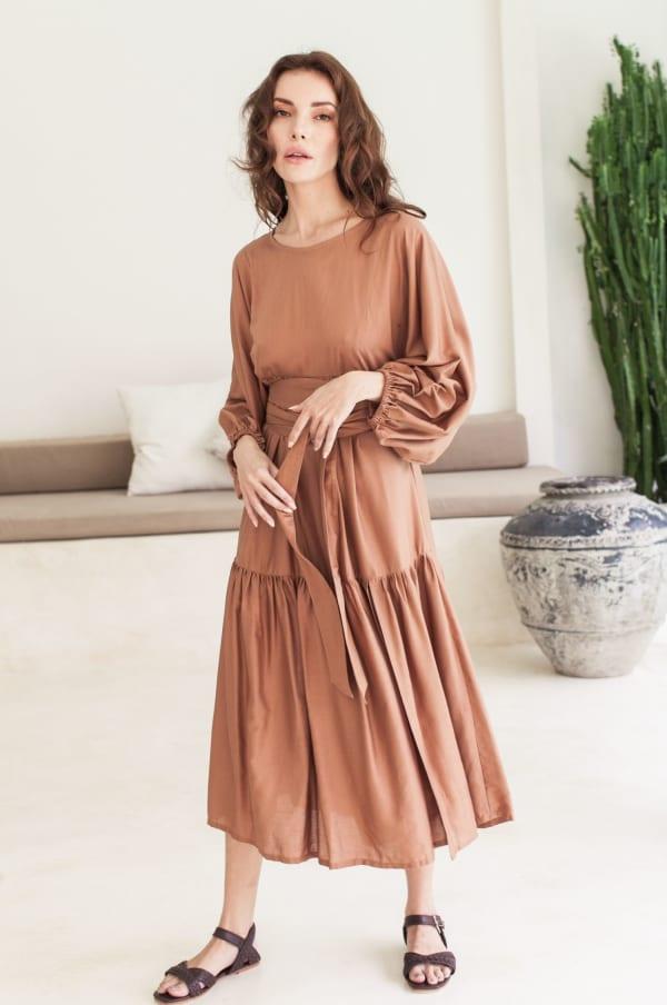Thalia Midi Dress  - Plus