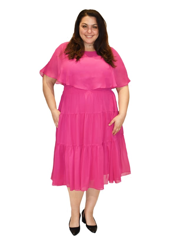 Maison Tara Capelet Dress - Plus