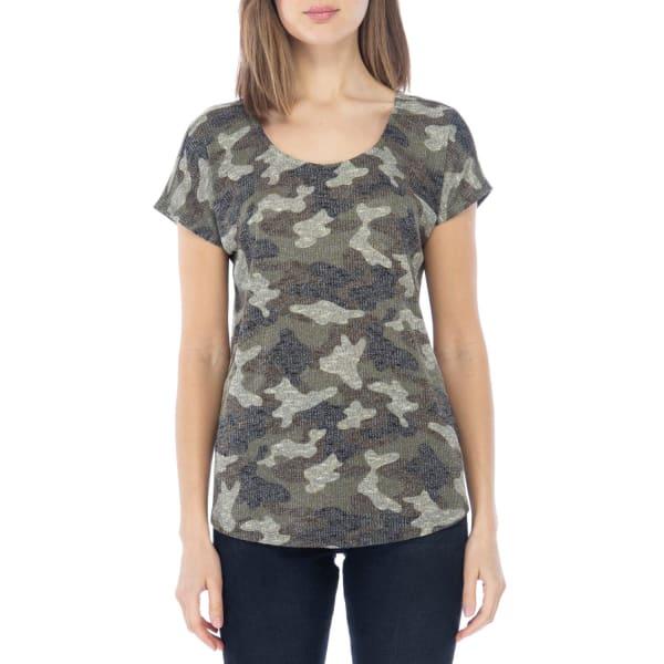 Camouflage Cross Back Tee