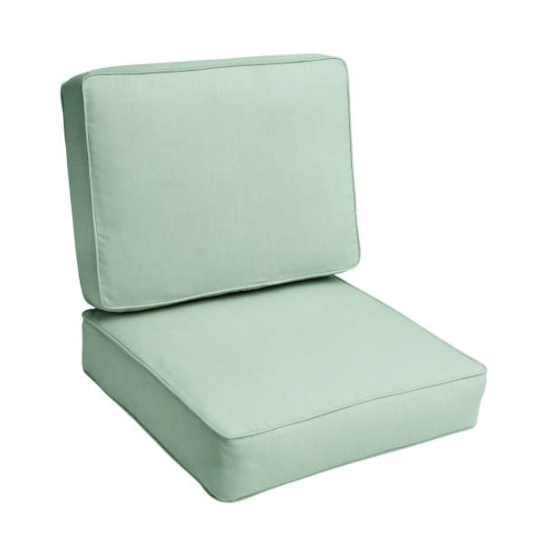 Chair Cushion Set In Canvas Spa, Pier 1 Outdoor Furniture Cushions