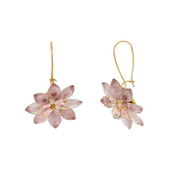 Carol Dauplaise Flower Earring