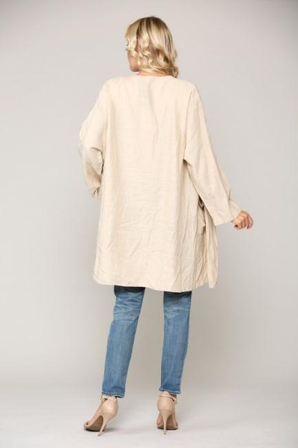 Larissa Linen Jacket