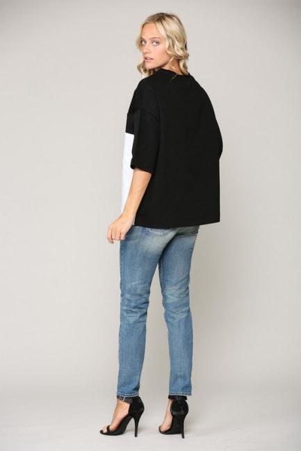 Kendra Colorblock Knit Top