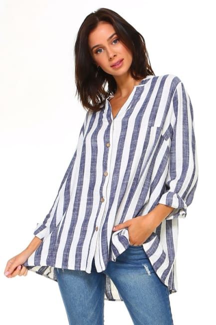 Lauren Cotton Linen Top