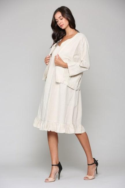 Lulu Linen Jacket