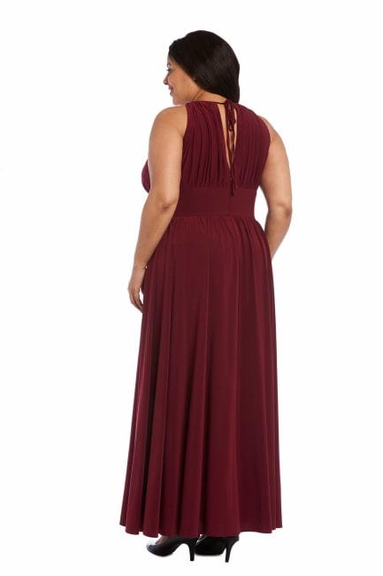 Maxi Dress with Embellishment - Plus