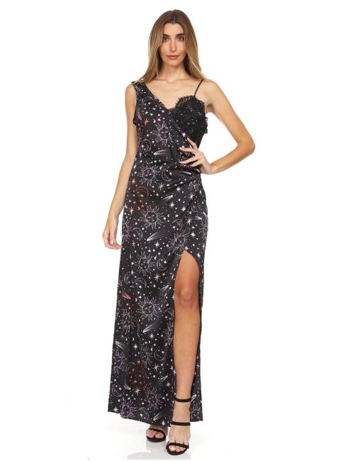 Celestial Evening Slip Dress
