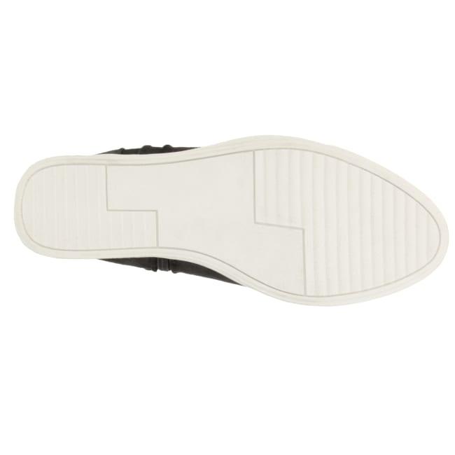 Glossy Wedge Sneaker