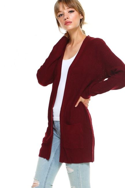 Sweater Essential Cardigan