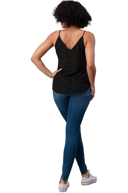 Gold Dot Basic Camisole Top