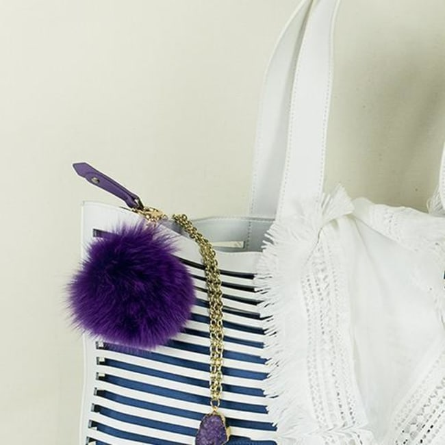 Foxy Bag Charm