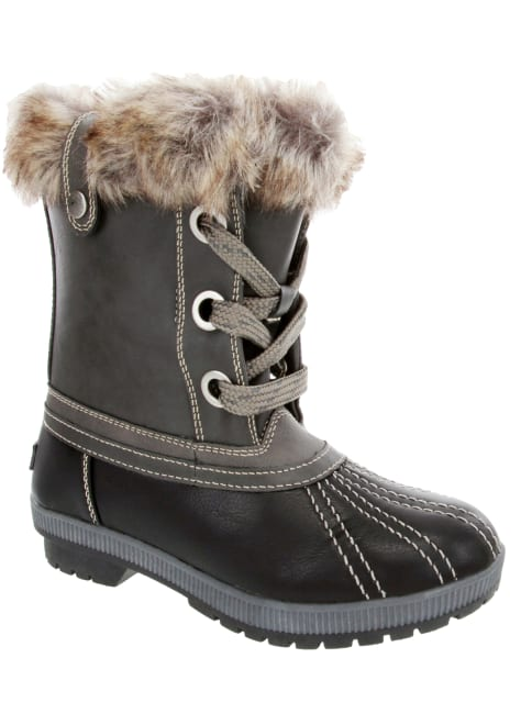 Milly Faux Fur Duck Boot