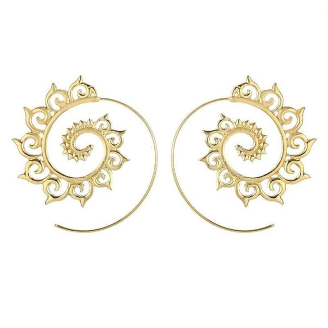 Gold Plated Sunny Earrings