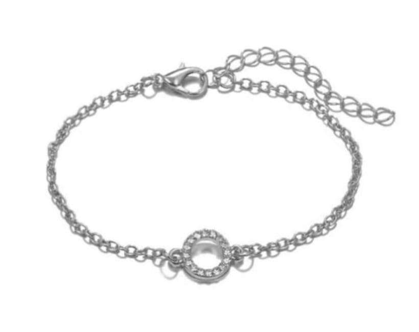 Stacked Bracelet Set #7 Silver