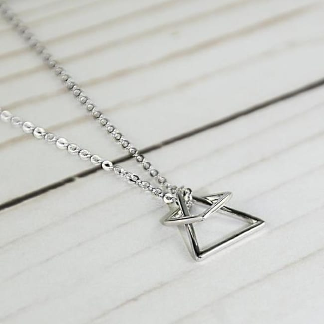 Sterling Silver Geo Game Necklace