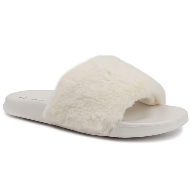 Wuzz Fuzzy Slide Sandal