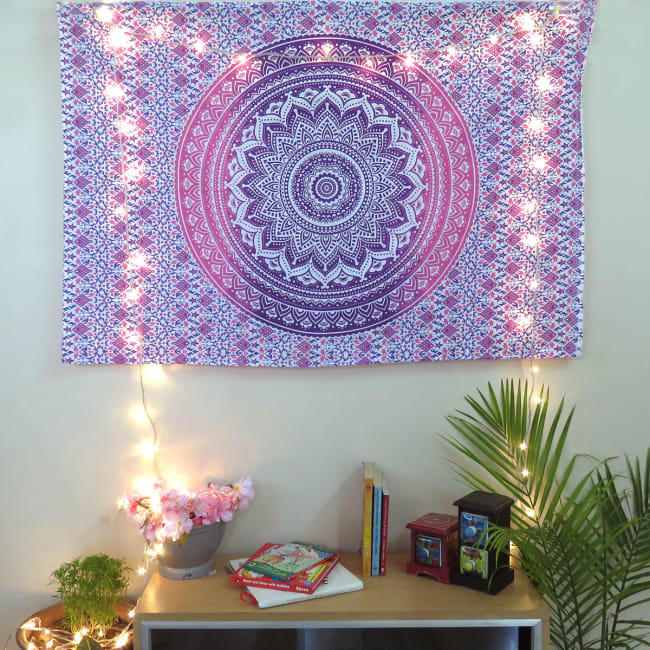 Cotton Pink Poster