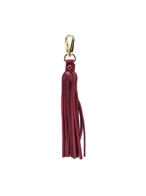 Fringe Power Leather Bag Charm