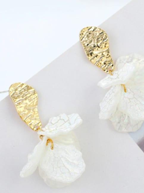 Layered Flower Earrings