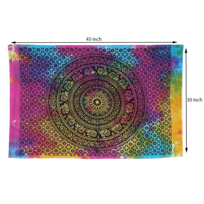 Tie Dye Mandala Poster