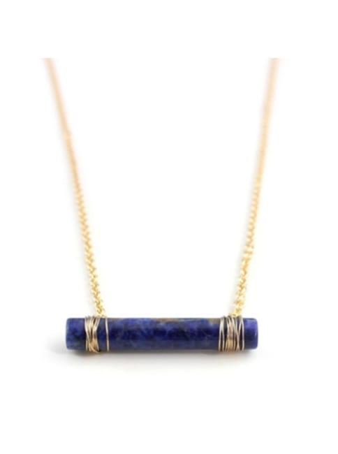 Quartz Cylinder Necklace