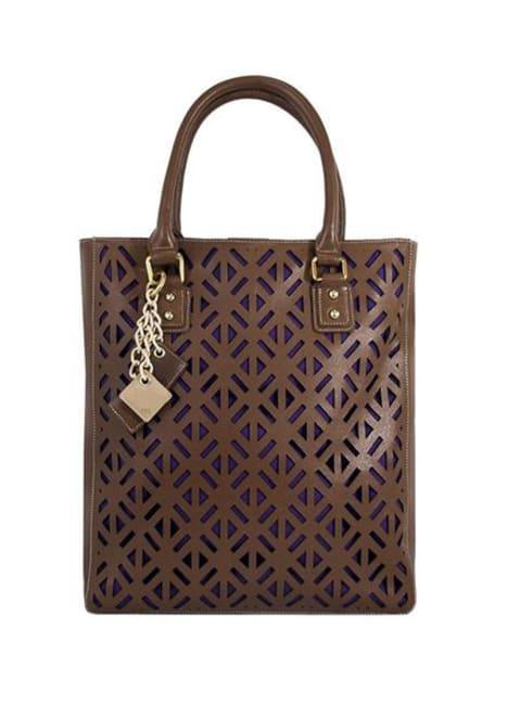 Luminous Leather Bag