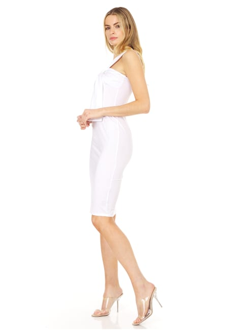 Single Strap Fitted Dress