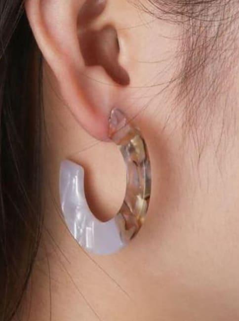 Chance -Tan Earrings