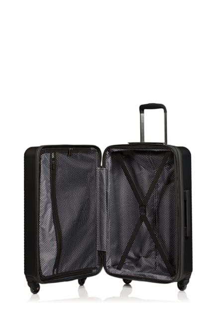 Champs 3-Piece Grid Hardside Luggage Set
