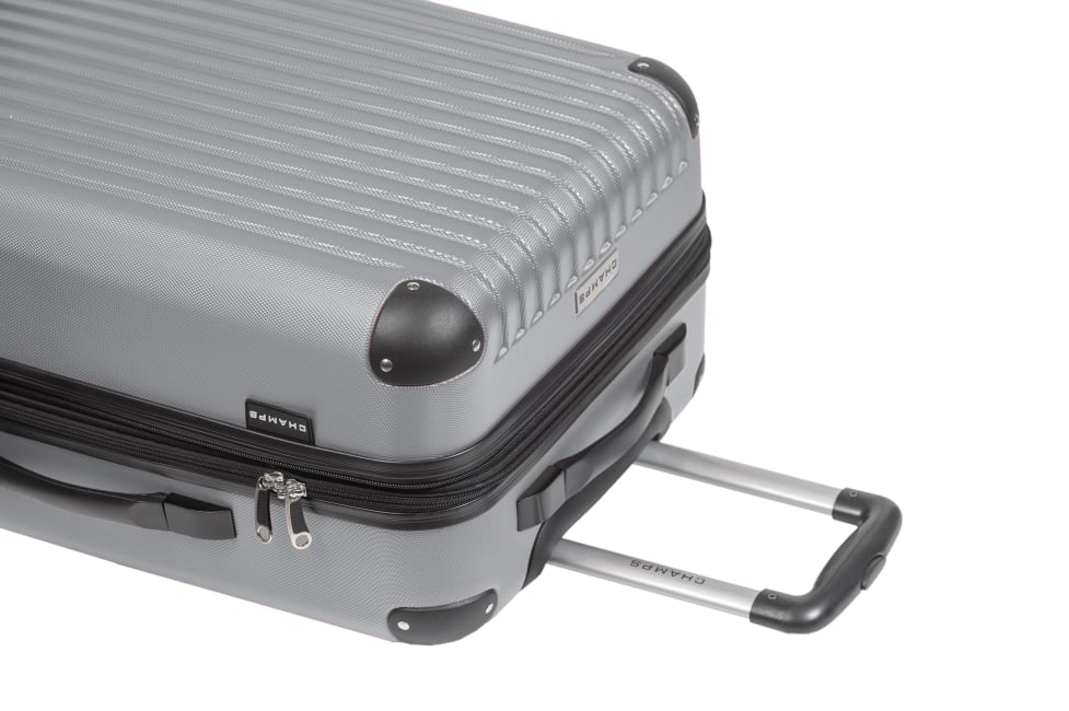 Champs 3-Piece Global Hardside Luggage Set