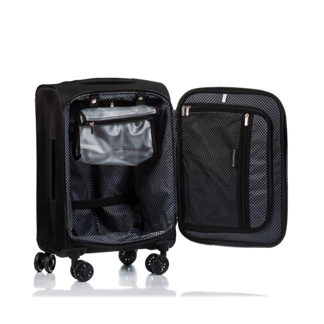 Champs 3-Piece Travelers Softside Luggage Set