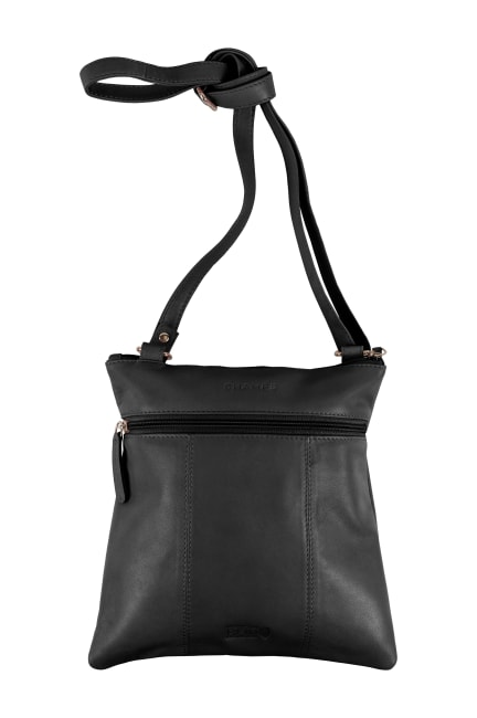 Champs Leather Crossbody Bag With RFID Protection
