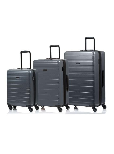 Champs 3-Piece Fire Hardside Luggage Set