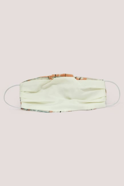 Spotted Double Layer Fabric Face Mask