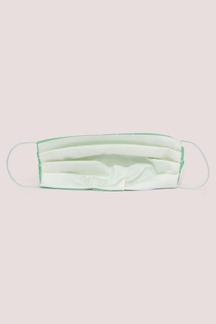 Green Spotted Face Mask