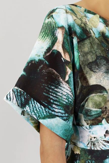 Multi Closet Kimono Wiggle Dress