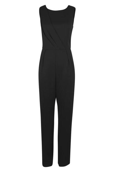 Black Open Back Jumpsuit