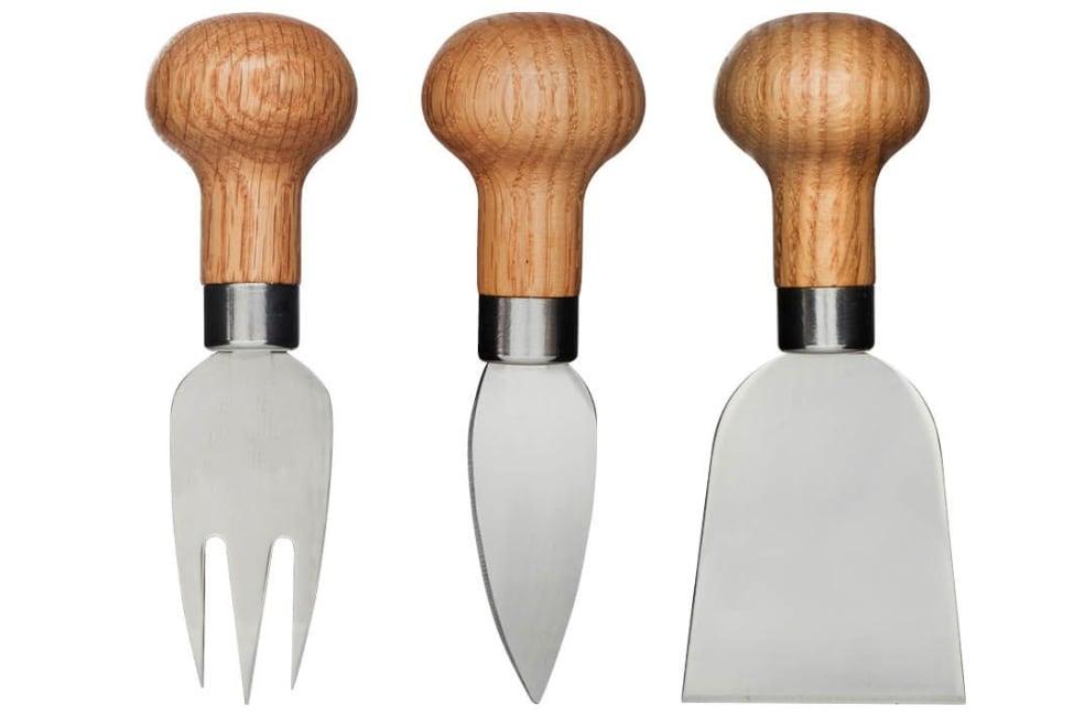 Sagaform Nature Cheese Knife Set, Pack Of 3