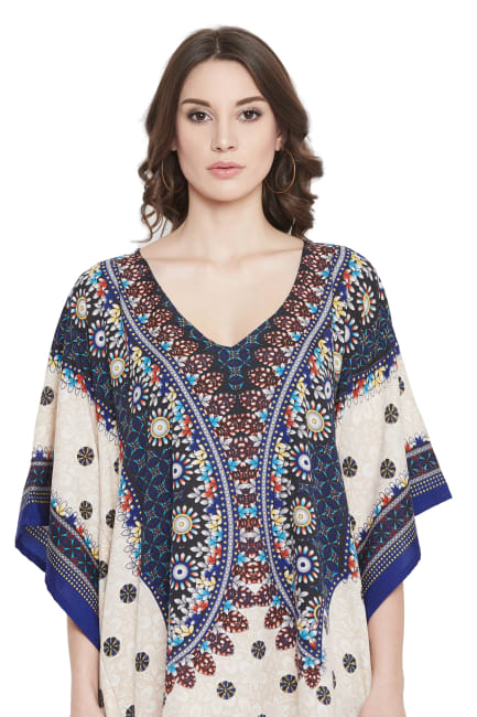 Floral Short Tunic